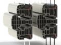 uPVC system 3flush fitting